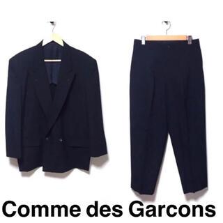 コムデギャルソンオムプリュス(COMME des GARCONS HOMME PLUS)のコムデギャルソン セットアップ 紺(セットアップ)