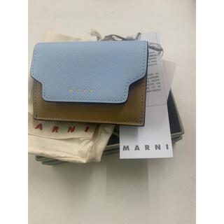 マルニ(Marni)の定価5万以 MARNI マルニ ミニ財布 三つ折り 新品(財布)