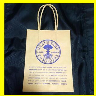 ニールズヤード(NEAL'S YARD)のニールズヤード 紙袋 ショッパー ショッピング 袋(アロマグッズ)