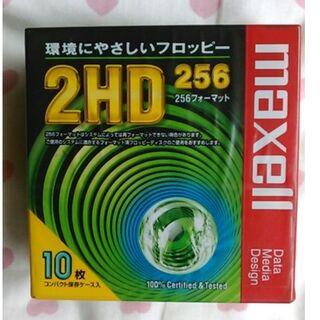 ヒタチ(日立)の日立 マクセル 3.5型フロッピーディスク 2HD 256フォーマット (PC周辺機器)