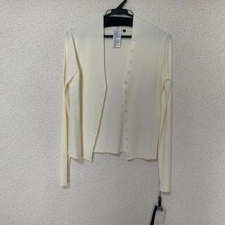 ダブルスタンダードクロージング(DOUBLE STANDARD CLOTHING)のダブスタ  カーディガン 新品未使用品(カーディガン)