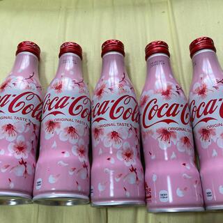コカコーラ(コカ・コーラ)のコカコーラ 2020SAKURA 限定缶 5本(ソフトドリンク)