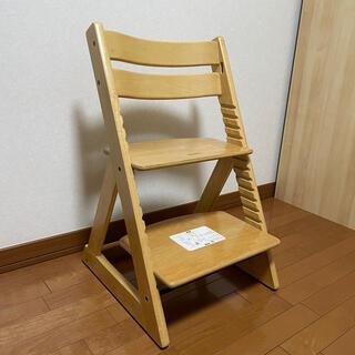 子ども椅子 キッズチェア ベビーチェア 木製ハイチェア(その他)