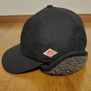 ダントン(DANTON)のDANTON WOOL ETAMINE ダントン フライトボアキャップ 帽子(キャップ)