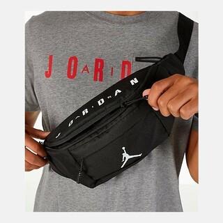 ナイキ(NIKE)のNIKE  JORDAN ショルダーバッグ 新品正規品 BLACK 黒(ショルダーバッグ)