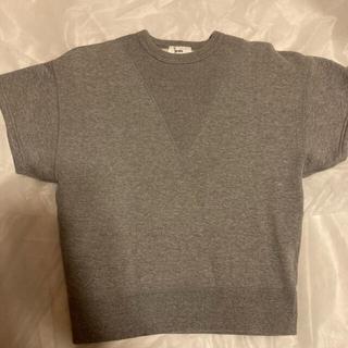 ハイク(HYKE)のHYKE   ハイク 半袖 裏起毛 スウェット Tシャツ(トレーナー/スウェット)