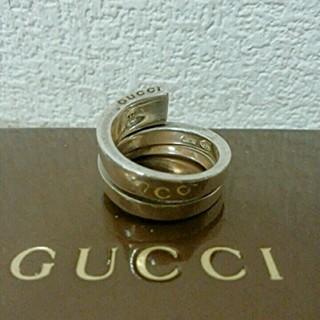 グッチ(Gucci)のGUCCI 14号シルバースネークリング(リング(指輪))