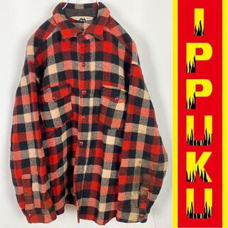 ウールリッチ(WOOLRICH)の70年代 70s WOOLRICH チェックネルシャツ ジャケット(シャツ)