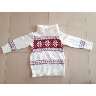 ベベ(BeBe)のセーター 80 BEBE べべ 冬 ニット クリスマス 男女共用(ニット/セーター)