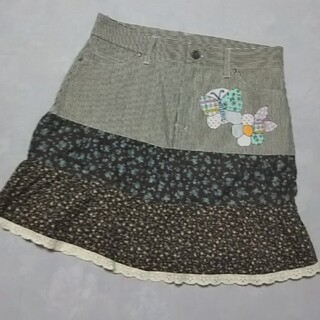 スカラー(ScoLar)のスカラー  切り替え スカート  ※ scalar(ひざ丈スカート)
