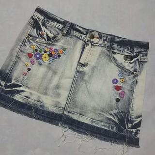スカラー(ScoLar)のscalar  デニム  ミニ スカート  ※  スカラー(ミニスカート)