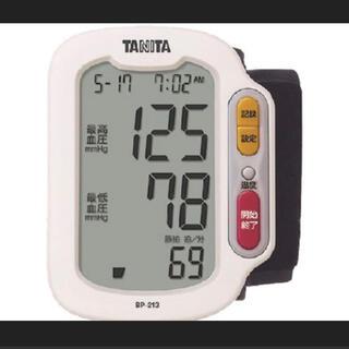 タニタ(TANITA)のタニタ 手首式デジタル血圧計 ホワイト BP-213-WH(その他)