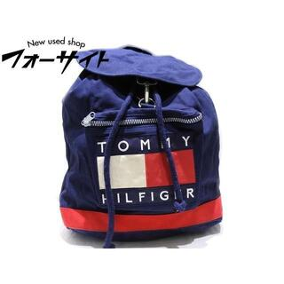 トミーヒルフィガー(TOMMY HILFIGER)のトミーヒルフィガー リュックサック ◆ キャンバス バックパック(リュック/バックパック)