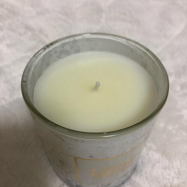キャンドル 大理石柄 コスメ/美容のリラクゼーション(キャンドル)の商品写真