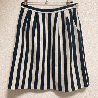 フィグロンドン(fig London)のfig London ストライプ スカート(ひざ丈スカート)