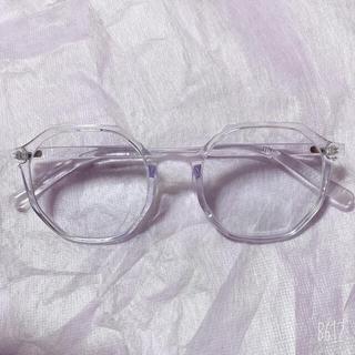 JINS - クリアフレーム メガネ