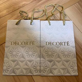 コスメデコルテ(COSME DECORTE)のコスメデコルテ  ショッパー ショップ袋(ショップ袋)