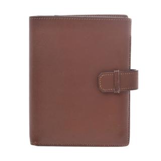 エルメス(Hermes)のエルメス  ジュラ 二つ折り財布 ブラウン(折り財布)