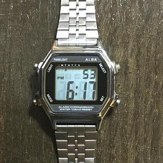セイコー(SEIKO)のSEIKO ALBA PANELIGHT 腕時計(腕時計(デジタル))