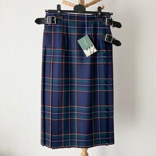 オニール(O'NEILL)の【新品】O'NEIL of DUBLIN 100%ウールキルトスカート サイズ8(ロングスカート)