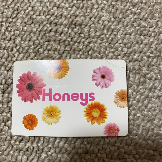 HONEYS(ハニーズ)のハニーズのポイントカード チケットの優待券/割引券(ショッピング)の商品写真