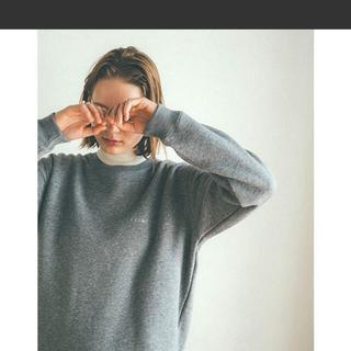ステュディオス(STUDIOUS)の今季 CLANE ベーシックスウェットシャツ (トレーナー/スウェット)