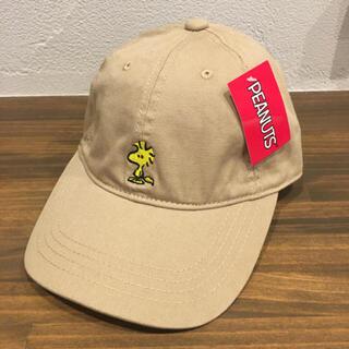 ピーナッツ(PEANUTS)のにゃんだふる様専用   ウッドストック キャップ  帽子 スヌーピー(キャップ)
