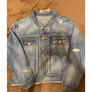 ginrhymes custom denim jacket(Gジャン/デニムジャケット)