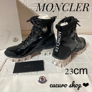 モンクレール(MONCLER)の【日本未入荷・激レア】 MONCLER ANKLE BOOTS 23cm(ブーツ)