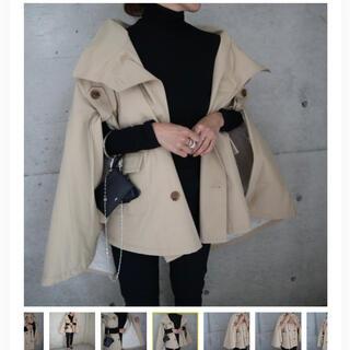 DEUXIEME CLASSE - 【今季新品未使用】 *ella*trench poncho coat