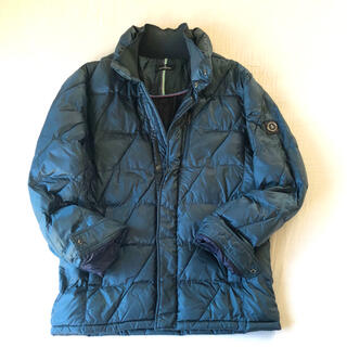 マンシングウェア(Munsingwear)の美品 マンシングウェア ゴルフウェア 中綿ジャケット ブルゾン/コート(ダウンジャケット)