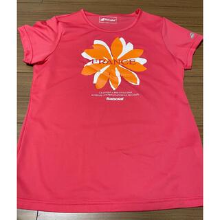 バボラ(Babolat)のバボラ プラクティスTシャツ 朱 サイズL(ウェア)