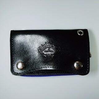 オロビアンコ(Orobianco)のOrobianco 本革製 キーリング付きミニ財布(コインケース/小銭入れ)