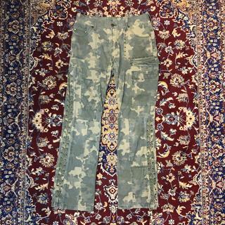 ジョンローレンスサリバン(JOHN LAWRENCE SULLIVAN)のVINTAGE lace-up gimmick cargo pants(ワークパンツ/カーゴパンツ)