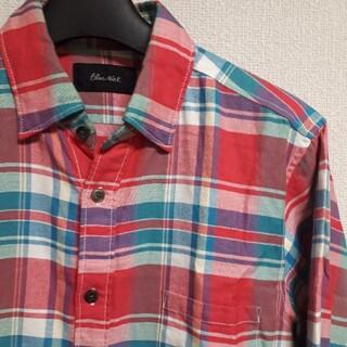 トゥモローランド(TOMORROWLAND)のBLUE WARK ブルーワーク チェック シャツ(シャツ)