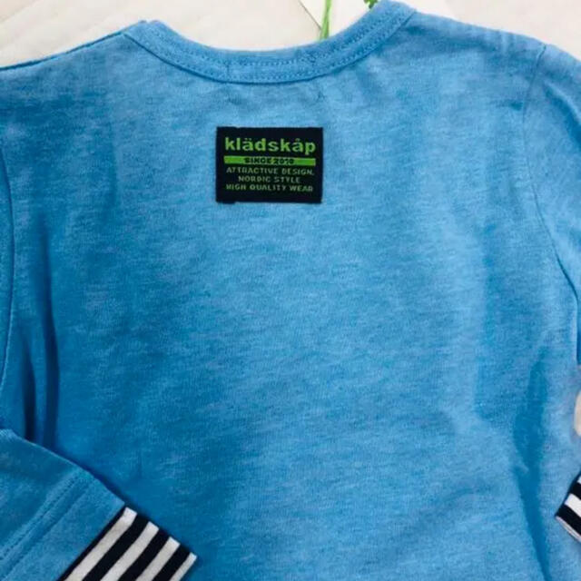 kladskap(クレードスコープ)の新品タグ付kladskapクレードスコープロンT キッズ/ベビー/マタニティのベビー服(~85cm)(Tシャツ)の商品写真