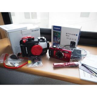 オリンパス(OLYMPUS)のオリンパス 水中カメラ機材セット ダイビング シュノーケル(マリン/スイミング)