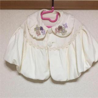 アナスイミニ(ANNA SUI mini)のアナスイミニポンチョ(ジャケット/コート)