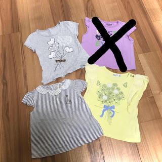 ナルミヤ インターナショナル(NARUMIYA INTERNATIONAL)のSophie la girafeほか Tシャツ 女の子80cm 3枚セット(Tシャツ)