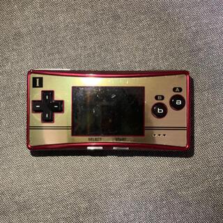 ゲームボーイアドバンス(ゲームボーイアドバンス)のゲームボーイミクロ カセット、シリコンカバー付き(家庭用ゲーム機本体)