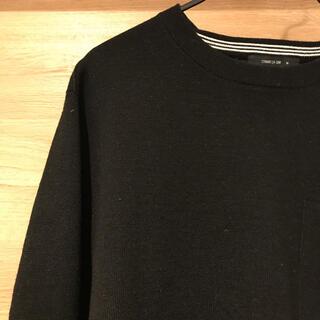 コムサイズム(COMME CA ISM)のCOMME CA ISM セーター ニット ブラック(ニット/セーター)