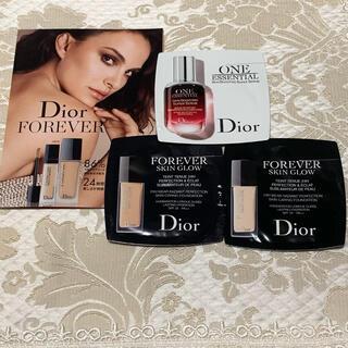 ディオール(Dior)のDiorサンプル3点セット(ファンデーション)