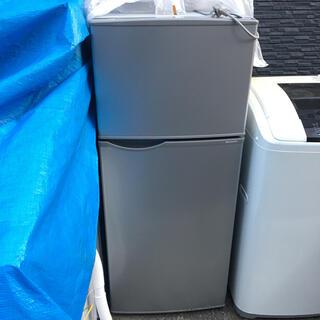 SHARP - シャープ SHARP 冷凍冷蔵庫 118L 2015年製