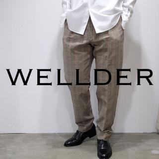 ワンエルディーケーセレクト(1LDK SELECT)のWELLDER / Two Tack Wide Trousers(スラックス)