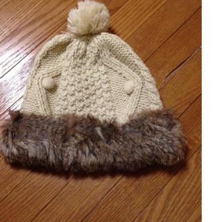 ケービーエフ(KBF)のMEMAR♥︎ニット帽(ニット帽/ビーニー)