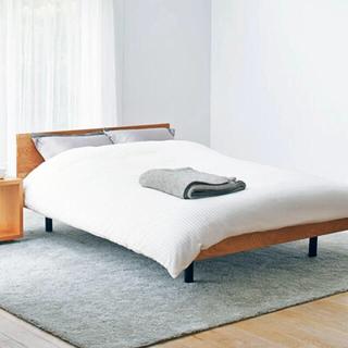 ムジルシリョウヒン(MUJI (無印良品))のMUJI 新品 ホテル仕様カバー(シーツ/カバー)