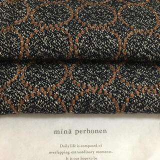 ミナペルホネン(mina perhonen)のミナペルホネン ファブリックtambourine mina perhonen  (生地/糸)