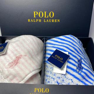 POLO RALPH LAUREN - 新品 ラルフローレン タオルハンカチ 2枚