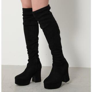 リエンダ(rienda)のPlatform Suede Long Boots(ブーツ)