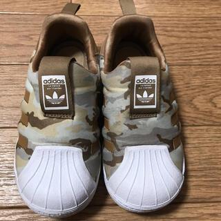 adidas - adidas アディダス kids カモフラ柄 スニーカー15cm 迷彩